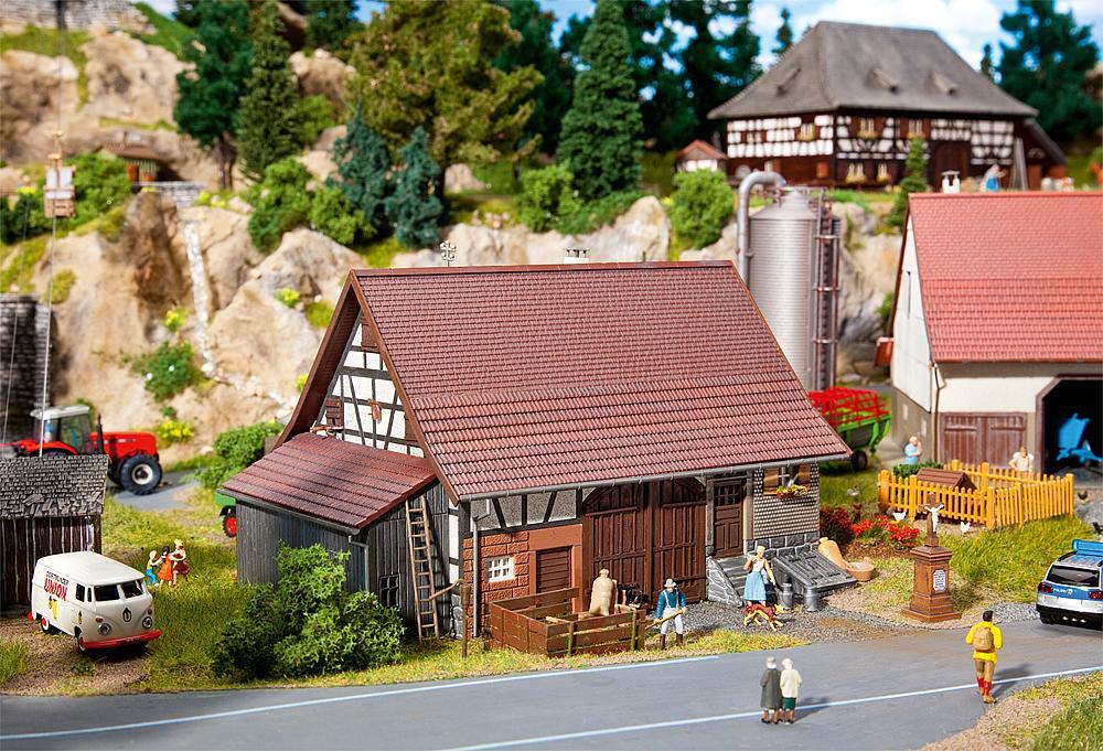 Gebr. Faller 190160 Aktions-Set Bauernleben