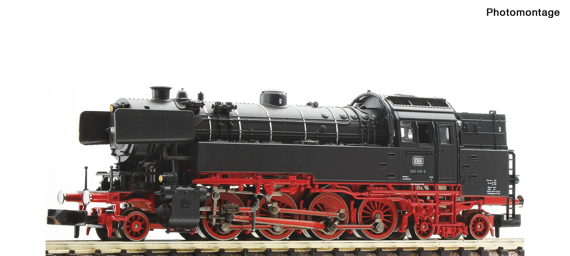 Fleischmann 706573 Dampflokomotive BR 065