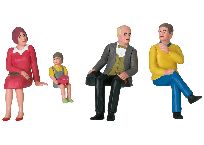LGB 53011 Figuren-Set Nostalgie Figuren-Set Nostalgie