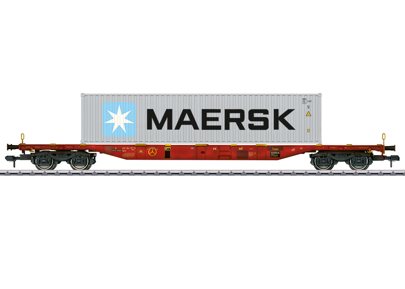 Märklin 58642 Container-Tragwagen Bauart Sgnss Container-Tragwagen Bauart Sgnss