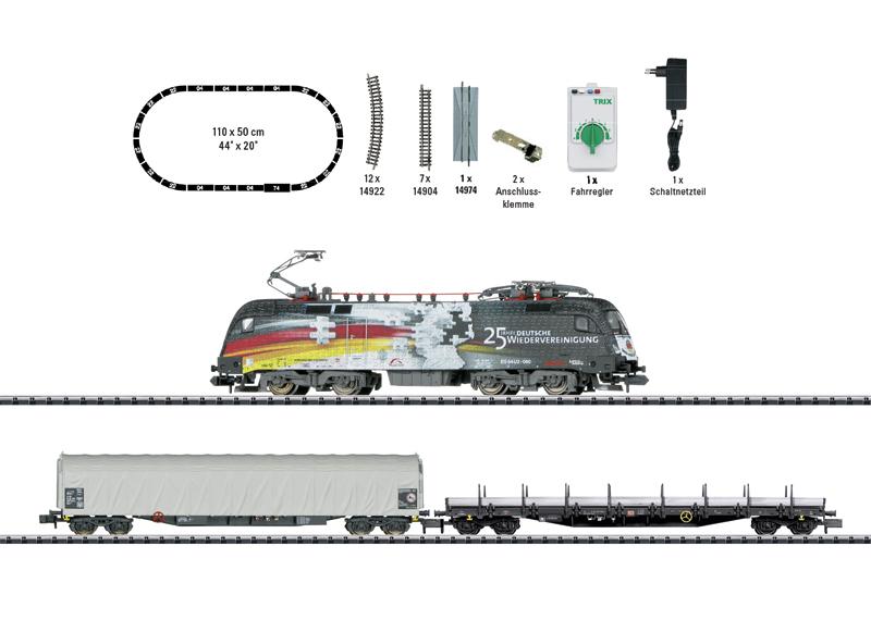 Trix 11154 Startpackung Güterzug Epoche VI