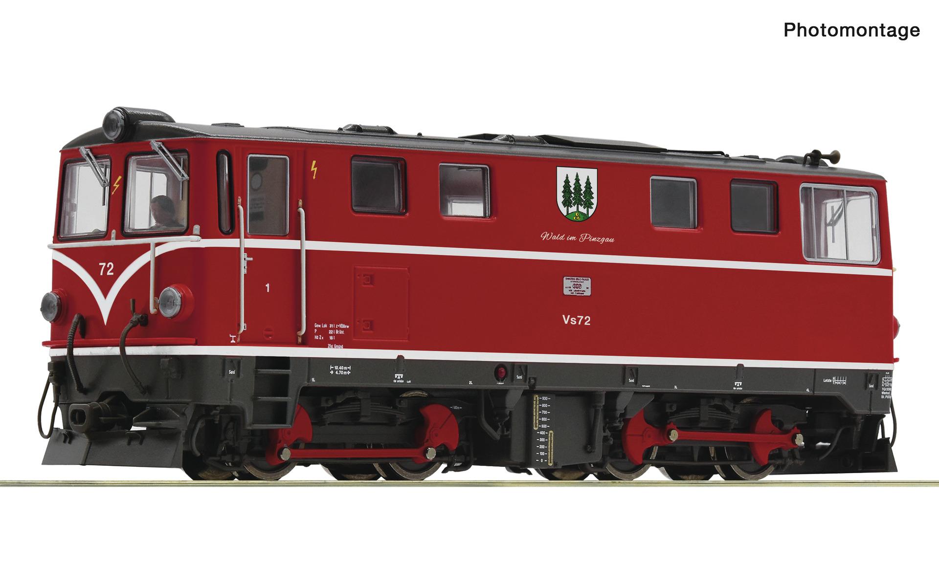 Roco 33320 Diesellokomotive Vs 72