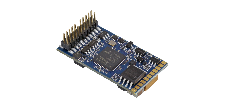 """ESU-Elektronik 58412 LokSound 5 DCC/MM/SX/M4 """"Leerdecoder"""", PluX22, Retail, mit Lautsprecher 11x15mm"""