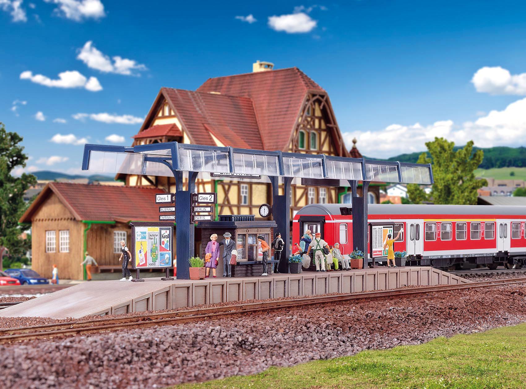 Vollmer 43534 H0 Bahnsteig Emswald