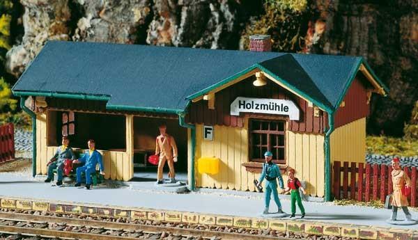 Auhagen 11357 Kleiner Haltepunkt Holzmühle