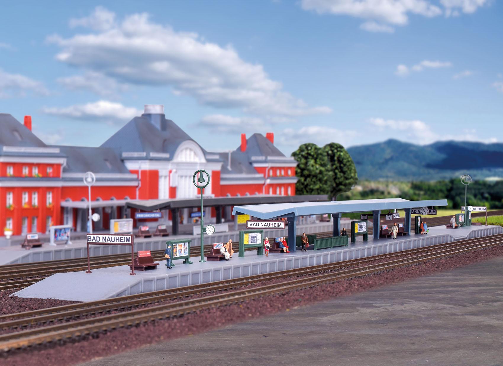 Kibri 36720 Z Bahnsteig Bad Nauheim