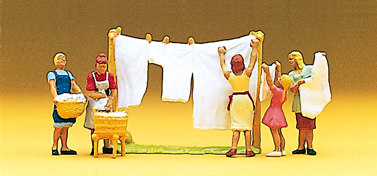 Preiser 10050 Wäscherinnen