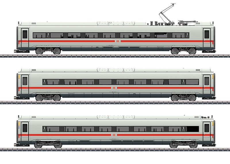 Märklin 43726 Ergänzungswagen-Set zum ICE 4