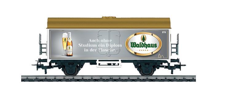 Märklin 4415.685 Exlusiver Bierwagen WALDHAUS AC