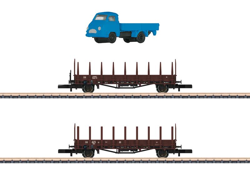 Märklin 82132 Rungenwagen-Set Rmms 33