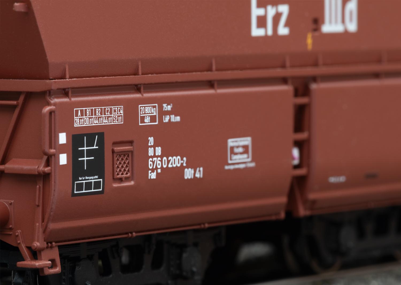 Märklin 46213 Selbstentladewagen-Set Erz IIId Selbstentladewagen-Set Erz IIId