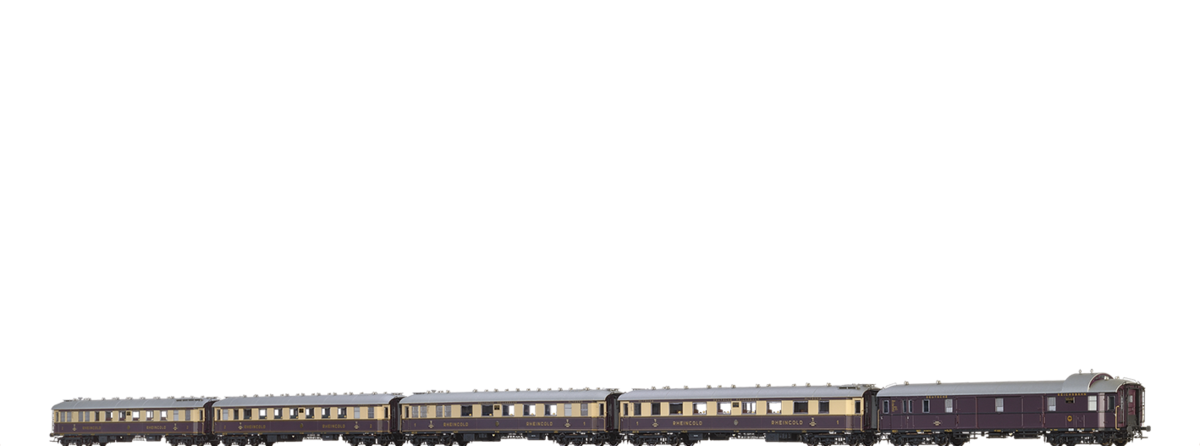 H0 Rheingold-Set DRG II DC Di