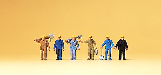 Preiser 79096 Gleisbauarbeiter