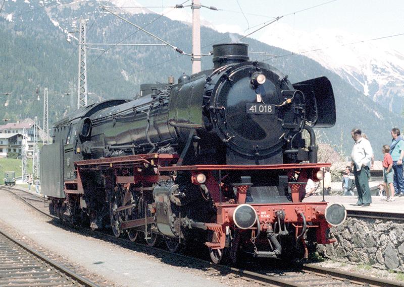Märklin 88275 Dampflokomotive Baureihe 41 Öl