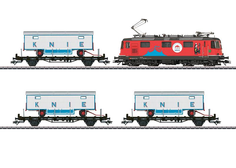 Märklin 26615 Zugpackung  100 Jahre Schweizer National-Circus Knie