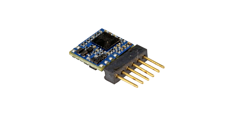 ESU-Elektronik 59817 LokPilot 5 micro DCC/MM/SX, 6-pin Direkt, Retail, Spurweite N, TT