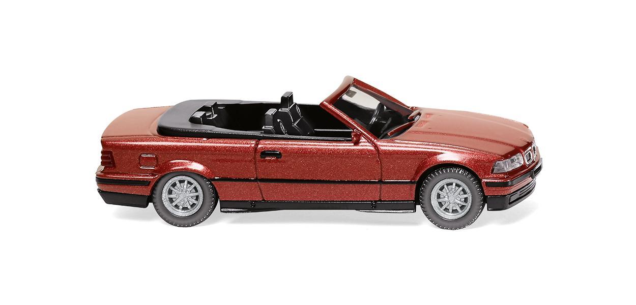 BMW 325i Cabrio - weinrot-met