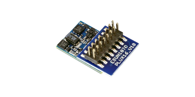 ESU-Elektronik 59814 LokPilot 5 micro DCC/MM/SX/M4, PluX16, Retail, Spurweite N, TT