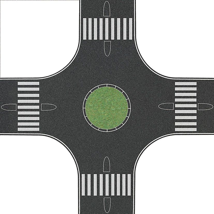 Busch 1102 Kreisverkehr N