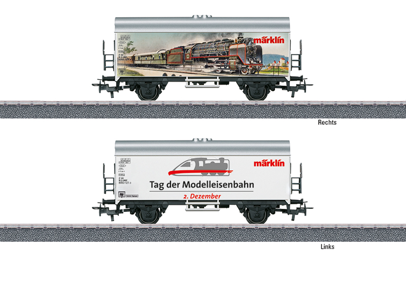 Märklin 44221 Internationaler Tag der Modelleisenbahn am 2. Dezember 2021 Internationaler Tag der Modelleisenbahn am 2. Dezember 2021