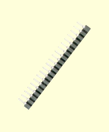 Miniatursteckverbindung 20-p.