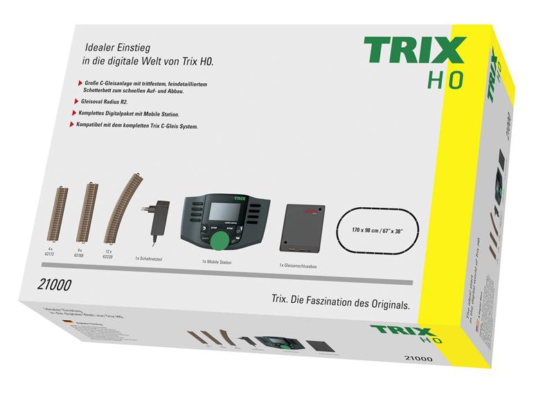Trix 21000 Digitaler Einstieg