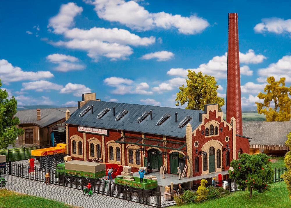 Gebr. Faller 130885 Porzellanfabrik Langenbach
