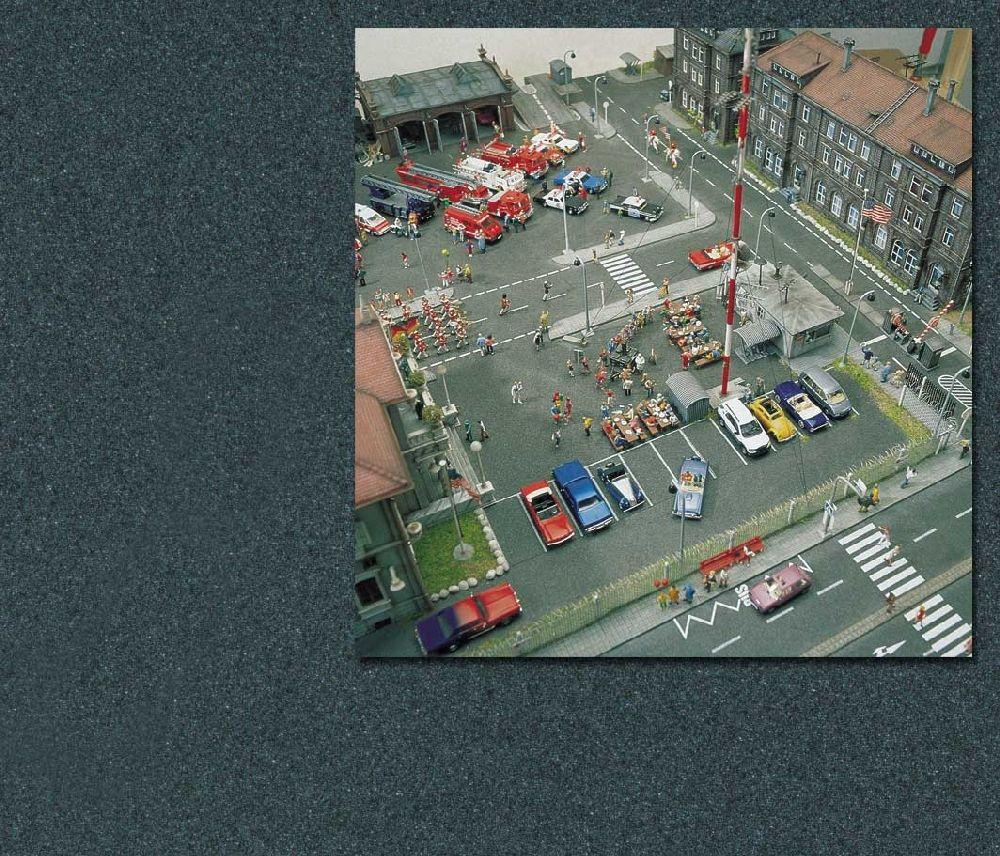Busch 7085 Asphaltplatz H0/N/TT