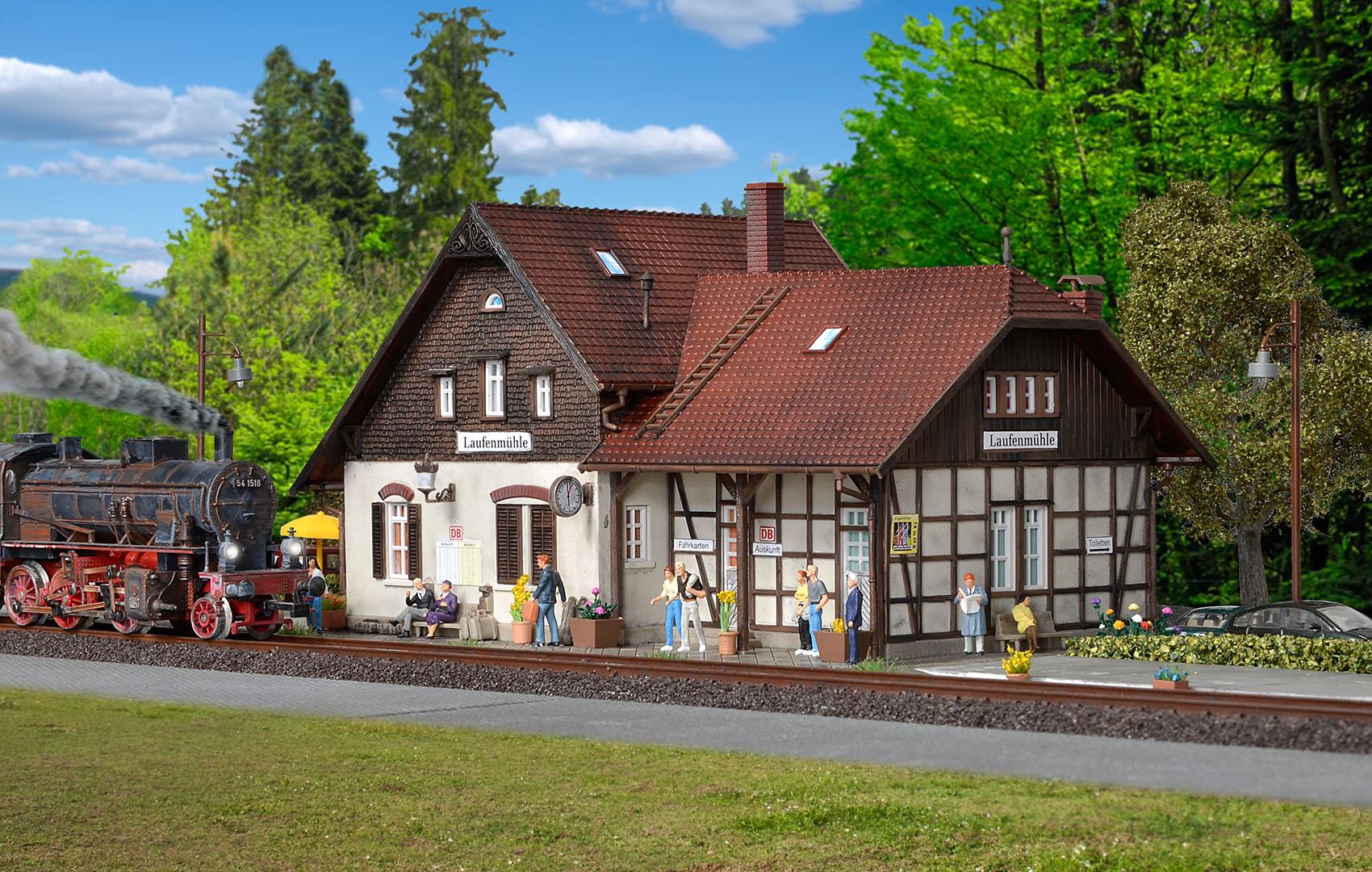 Vollmer 43518 H0 Bahnhof Laufenmühle