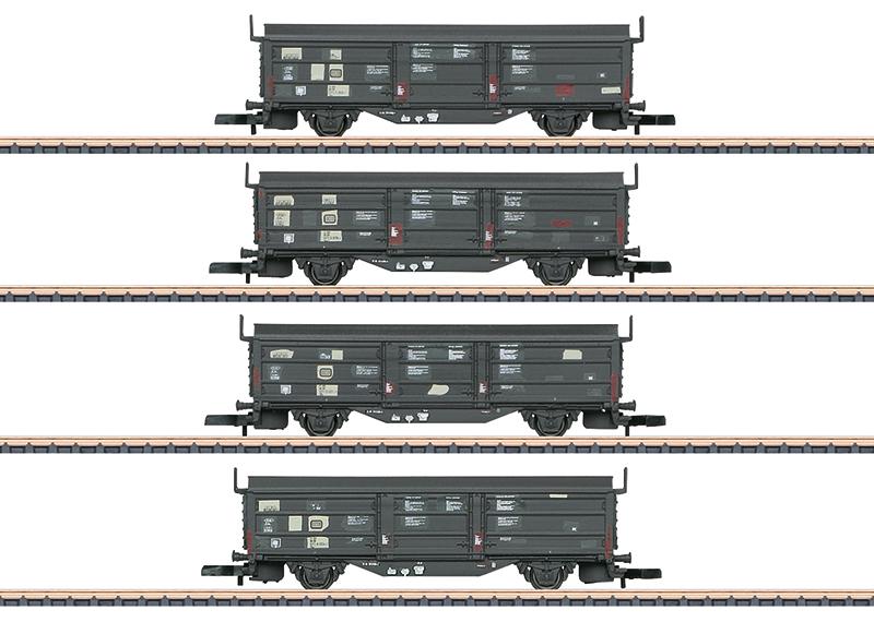 Märklin 82155 Schiebedach-/Schiebewandwagen-Set Schiebedach-/Schiebewandwagen-Set