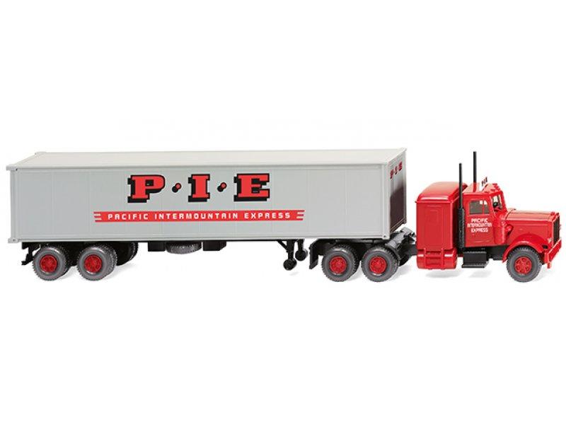 Containersattelzug (Peterbilt
