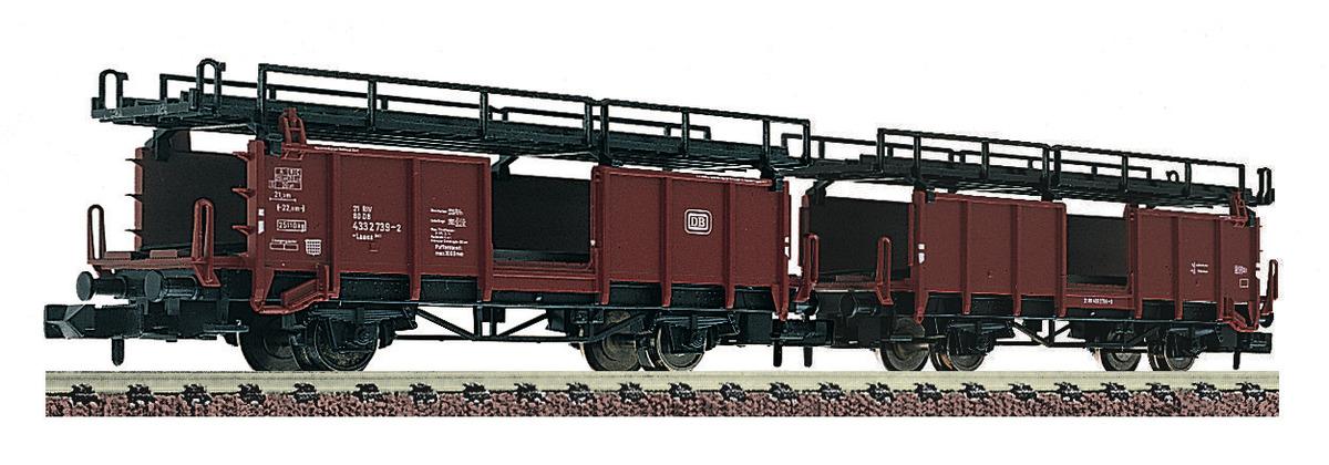 Fleischmann 822401 Doppelstockwagen für Autotransport in Güterzügen