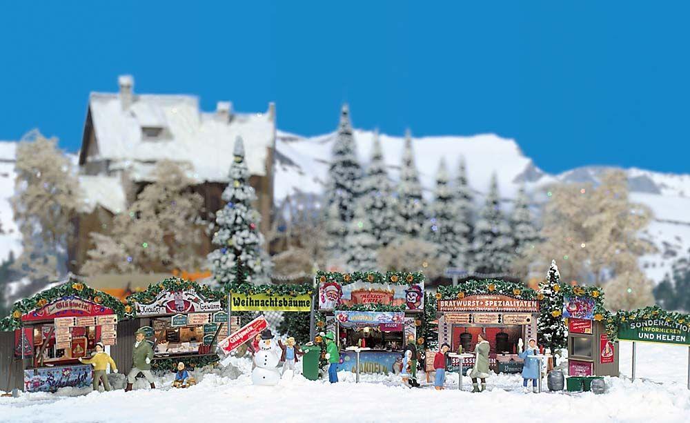 Busch 1059 Weihnachtsmarkt H0