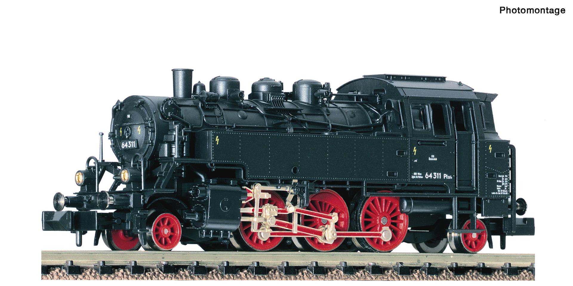 Fleischmann 706104 Dampflokomotive 64 311