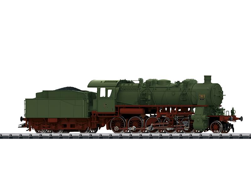 Güterzug-Dampflok R.G12 K.W.S