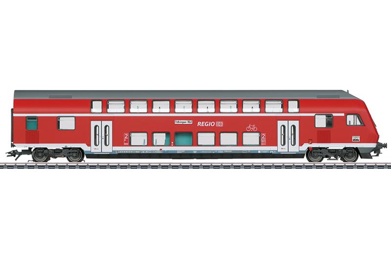 Märklin 43569 Doppelstock-Steuerwagen 2. Klasse Doppelstock-Steuerwagen 2. Klasse