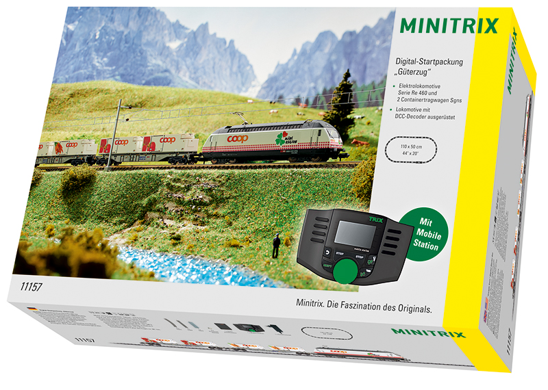 Trix 11157 Digital-Startpackung  Güterzug