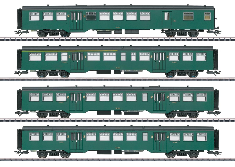 Märklin 43546 Personenwagen-Set M2 Personenwagen-Set M2