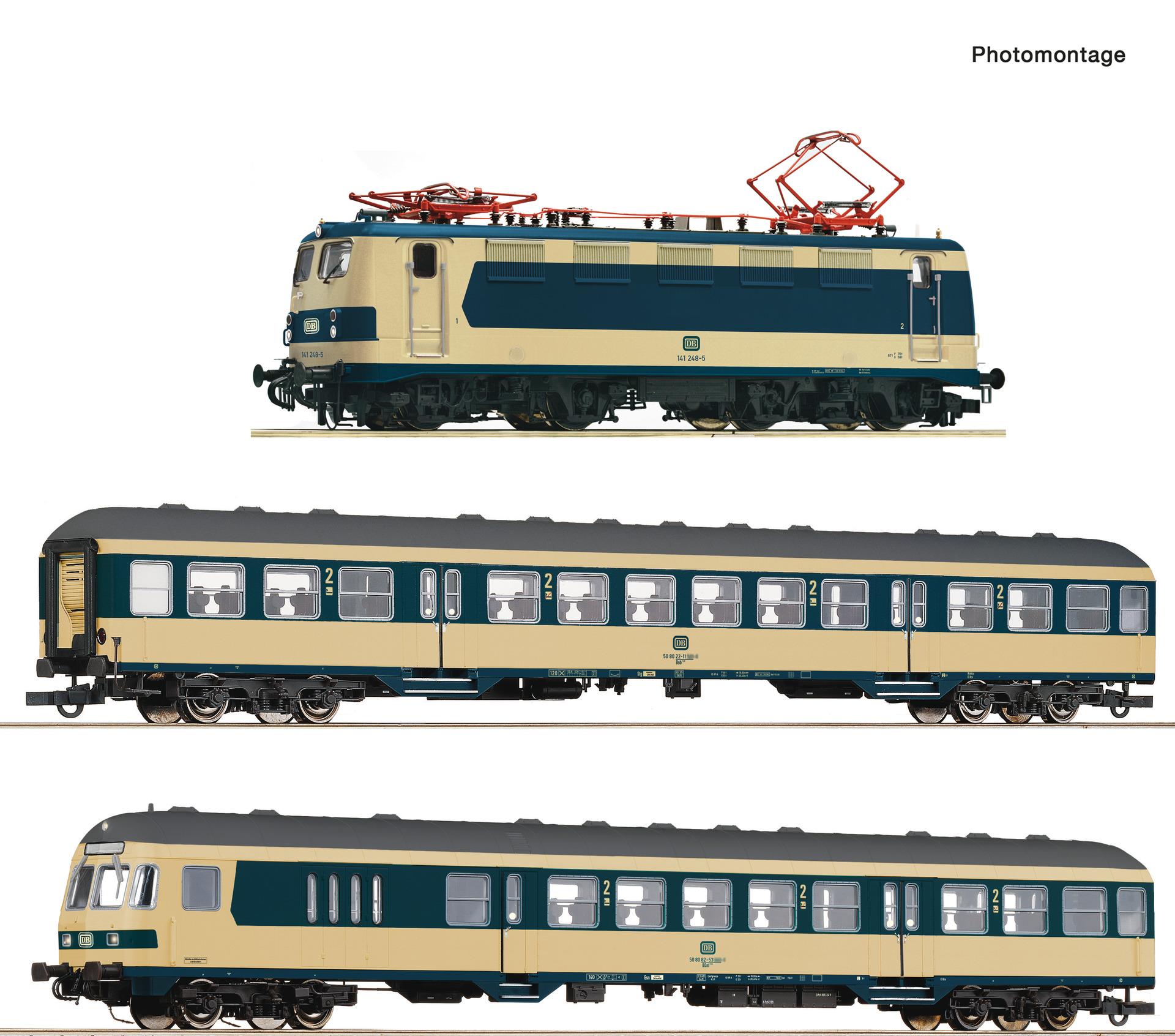 Roco 61485 3-tlg. Set: Karlsruher Zug
