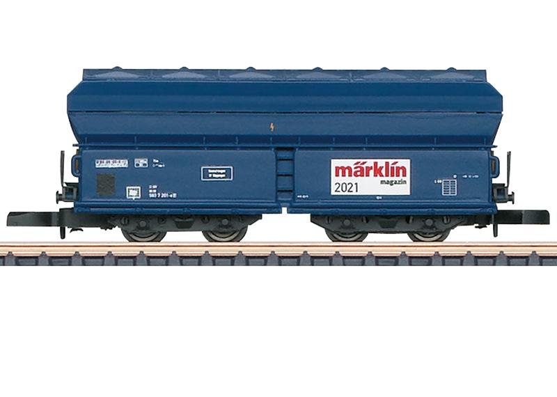 Märklin 80831 Märklin Magazin Jahreswagen Spur Z 2021 Märklin Magazin Jahreswagen Spur Z 2021
