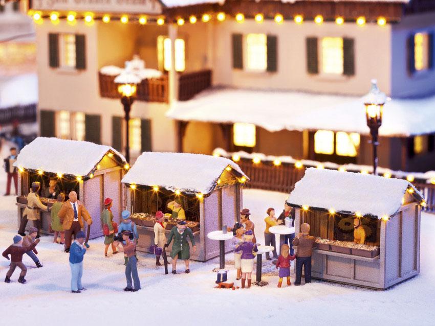 Noch 66412 Weihnachtsmarktbuden