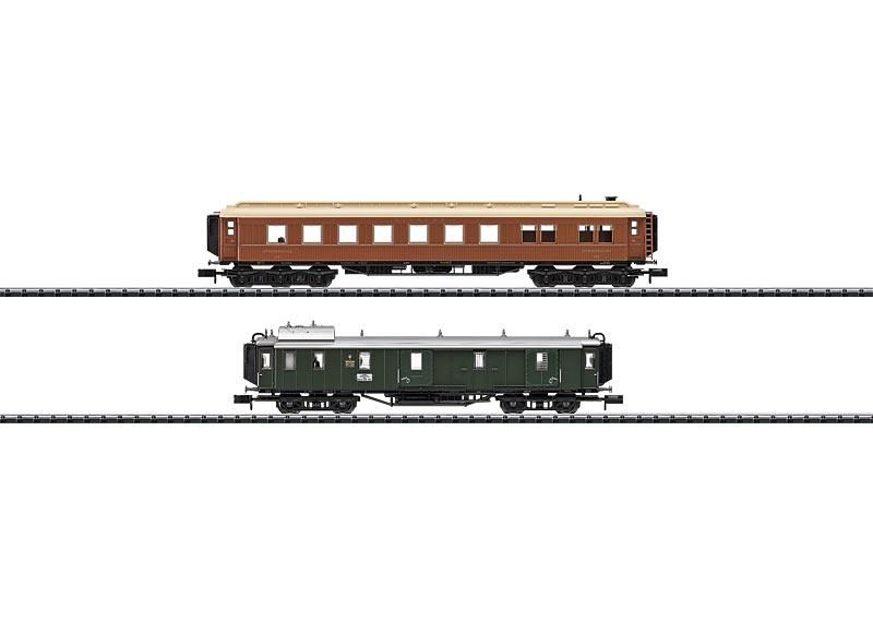 Schnellzugwagen-Set K.Bay.Sts
