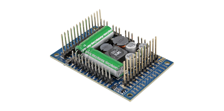 """ESU-Elektronik 58515 LokSound 5 XL DCC/MM/SX/M4 """"Leerdecoder"""", Stiftleisten, Retail, Spurweite G, I"""