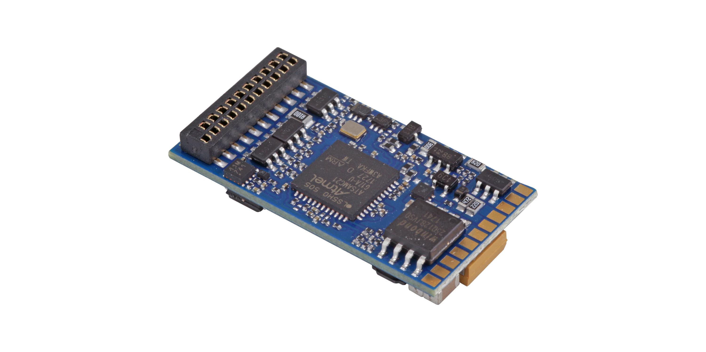 "ESU-Elektronik 58419 LokSound 5 DCC/MM/SX/M4 ""Leerdecoder"", 21MTC NEM660, Retail, mit Lautsprecher 1"