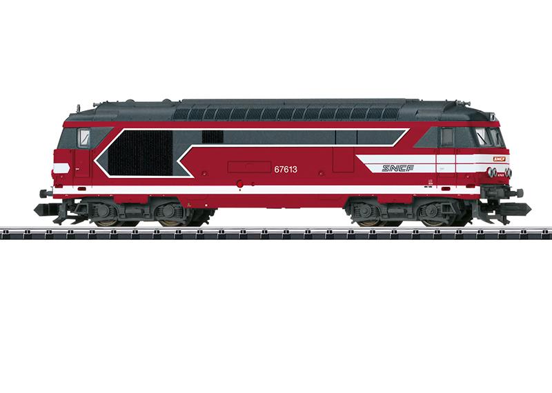 Trix 16706 Diesellokomotive Serie BB 67400 Diesellokomotive Serie BB 67400
