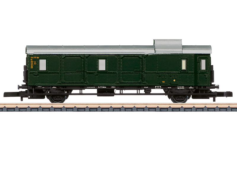 Märklin 87521 Einheitsgepäckwagen Donnerbüchse Einheitsgepäckwagen Donnerbüchse