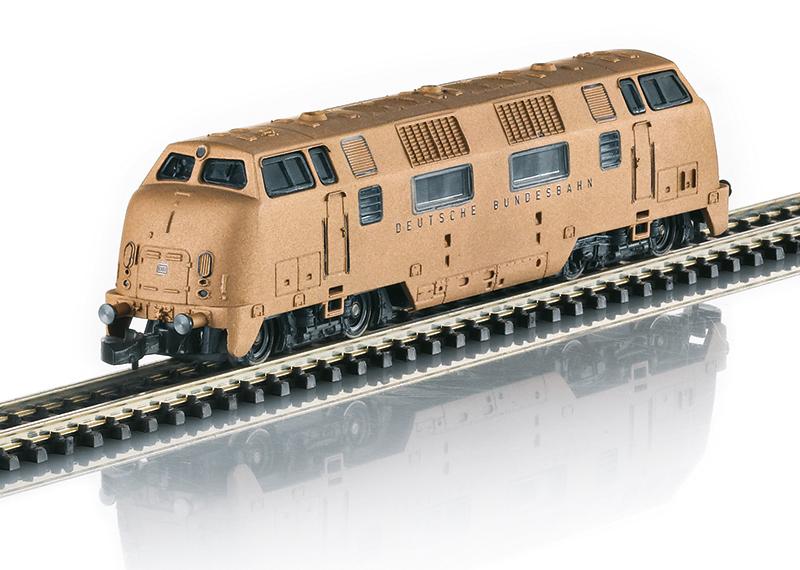 Märklin 88207 Diesellokomotive Baureihe V 200 in Echtbronze Diesellokomotive Baureihe V 200 in Echtbronze