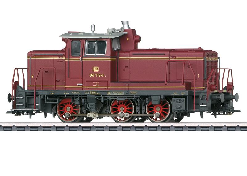 Märklin 37689 Diesellokomotive Baureihe 260 Diesellokomotive Baureihe 260