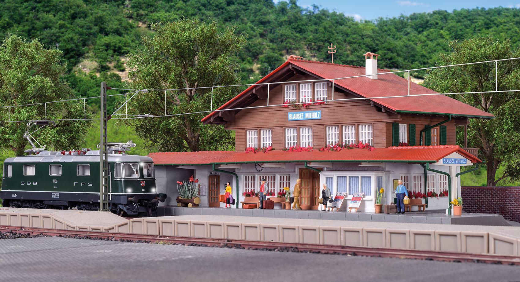 Kibri 39508 H0 Station Blausee Mitholz