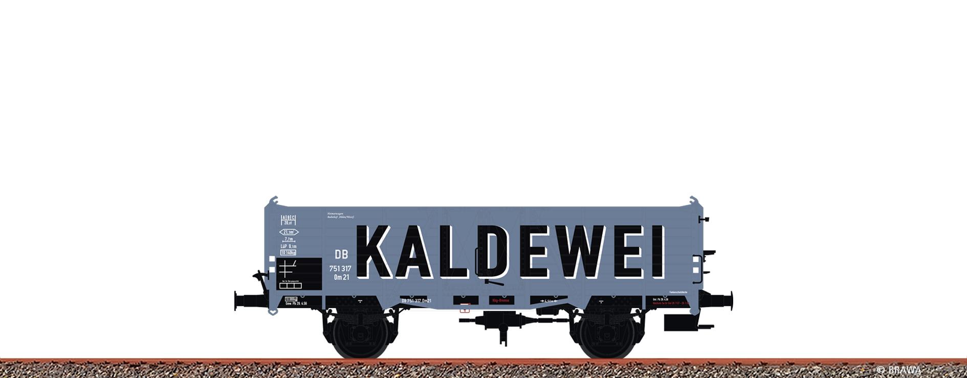 BRAWA 48440 H0 Güterwagen Om